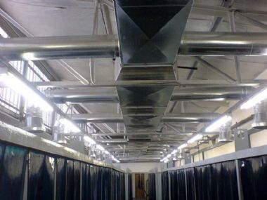 - Installation of Large Ventilation Systems