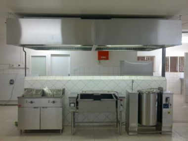 - Manufacturing of Kitchen Extraction Canopies