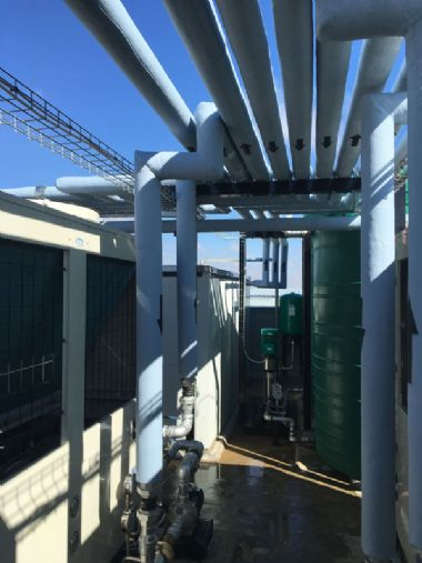Heat Pump Installation - Central University of Technology<br>